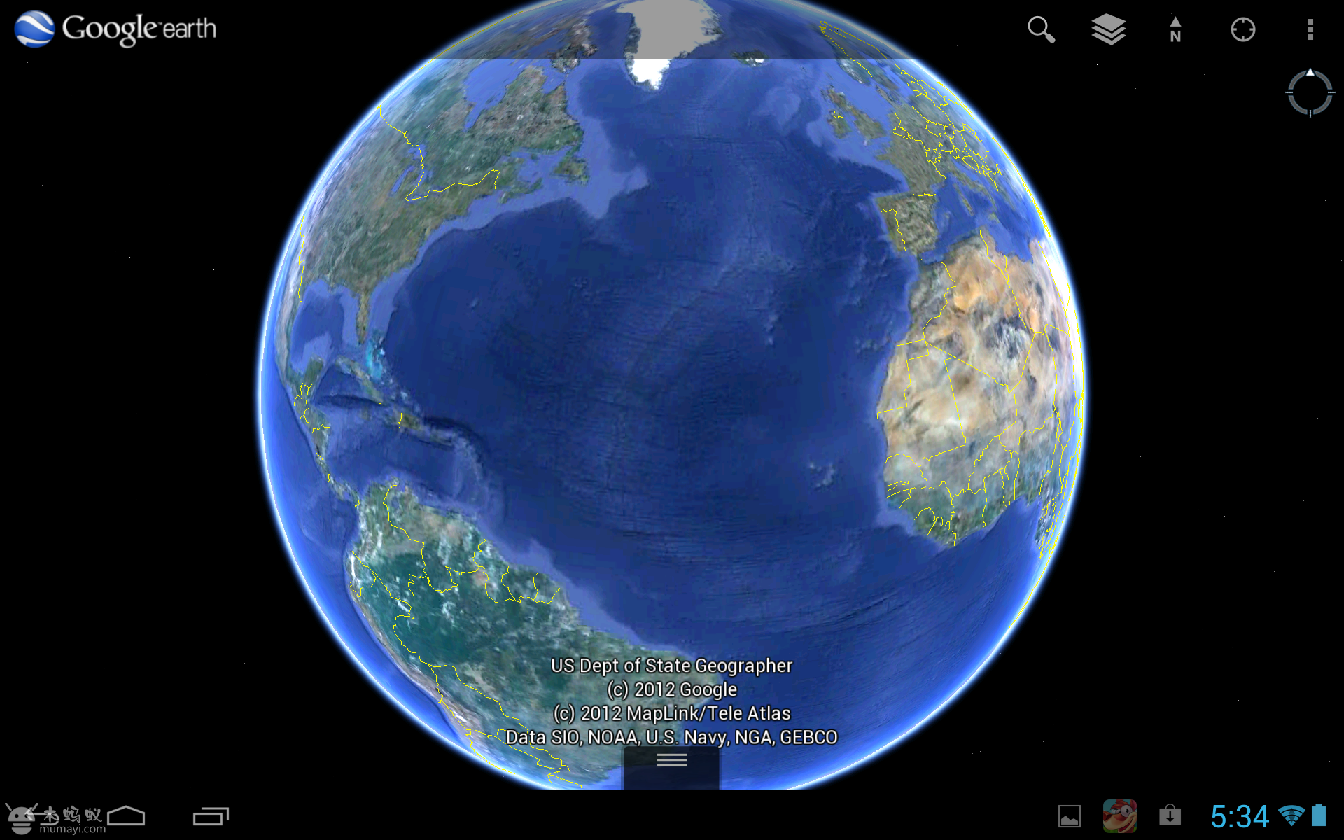 谷歌地球 google earth